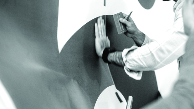 Design, production and installation of vinyl decals