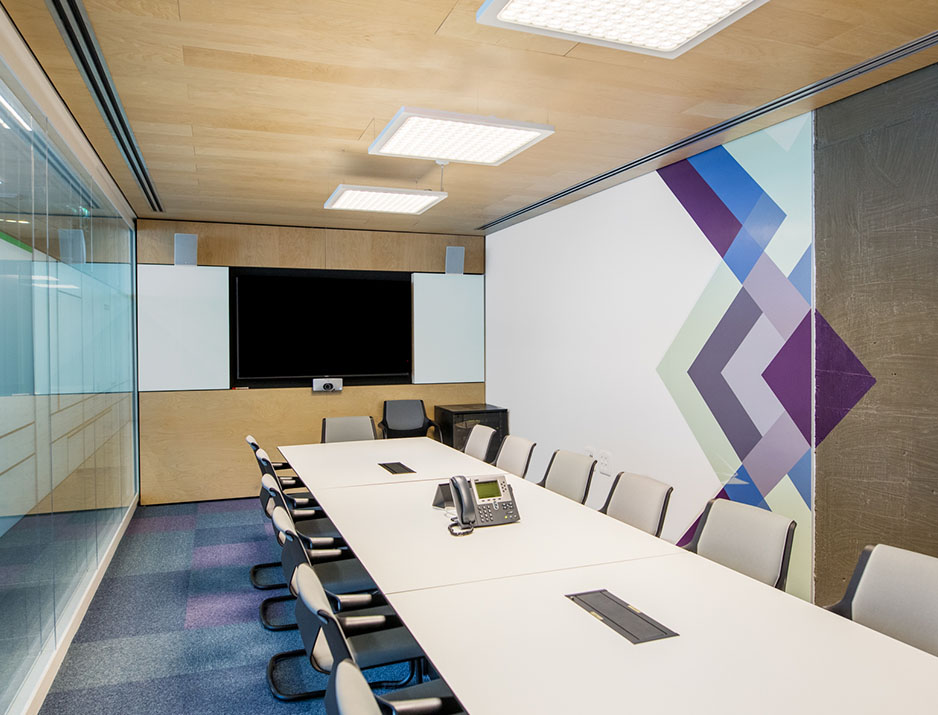 Ibm Meeting Room Graphic Design 74