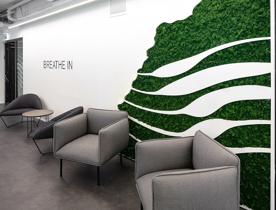 Tadiran Green Wall Design 22