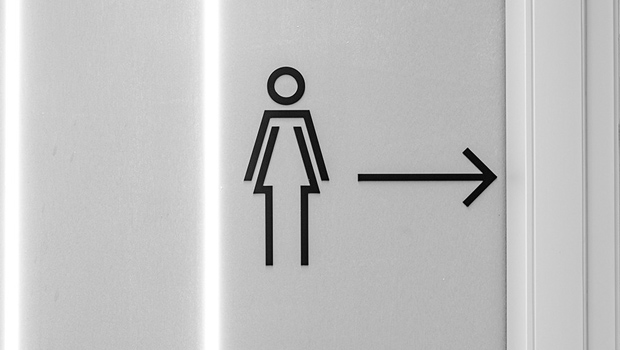 Toilet Signage Check Point
